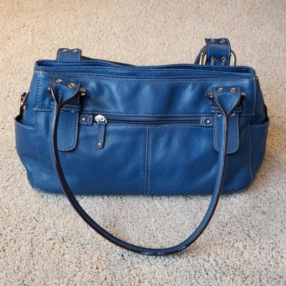 31fd6488a5d Clarks Bags   Blue Satchel Purse   Poshmark